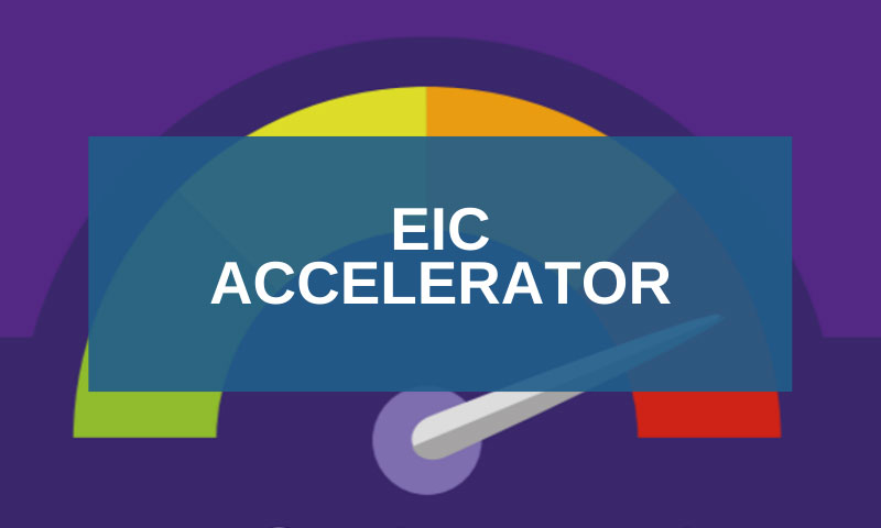 EIC Accelerator: new opportunities for SMEs and Start-ups